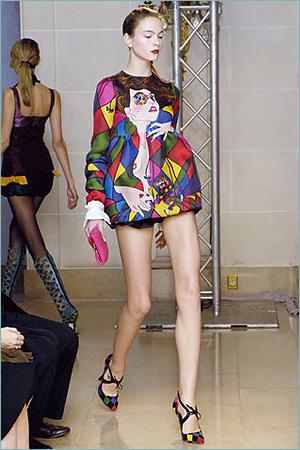 Olympus Fashion Week Spring 2007 - Heatherette - Runway