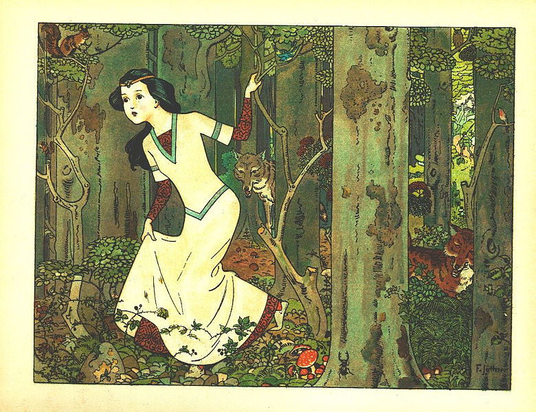 The brothers grimm disney into the woods cinderella for Miroir des princes