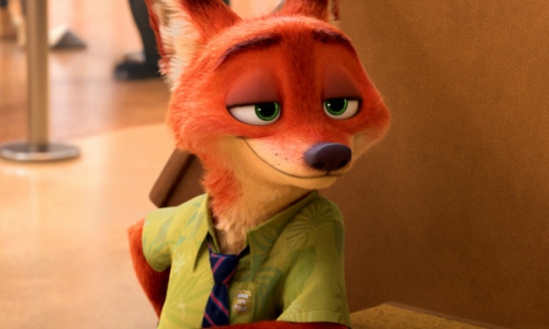 ZOOTOPIA – NICK WILDE, the scamming fox who Judy reluctantly teams up with to crack her first case. ©2015 Disney. All Rights Reserved.