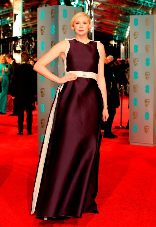 Gwendoline Christie attending the EE British Academy Film Awards at the Royal Opera House, Bow Street, London. PRESS ASSOCIATION Photo. Picture date: Sunday February 14, 2016. See PA Story SHOWBIZ Baftas. Photo credit should read: Yui Mok/PA Wire
