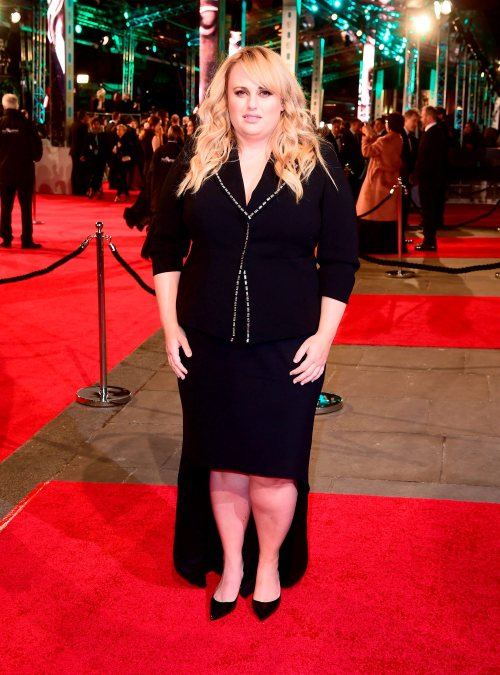 Rebel Wilson attending the EE British Academy Film Awards at the Royal Opera House, Bow Street, London. PRESS ASSOCIATION Photo. Picture date: Sunday February 14, 2016. See PA Story SHOWBIZ Baftas. Photo credit should read: Ian West/PA Wire