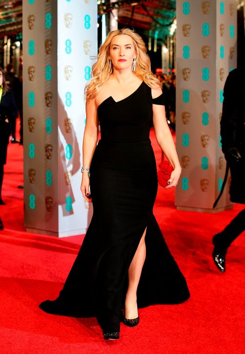 Kate Winslet attending the EE British Academy Film Awards at the Royal Opera House, Bow Street, London. PRESS ASSOCIATION Photo. Picture date: Sunday February 14, 2016. See PA Story SHOWBIZ Baftas. Photo credit should read: Yui Mok/PA Wire