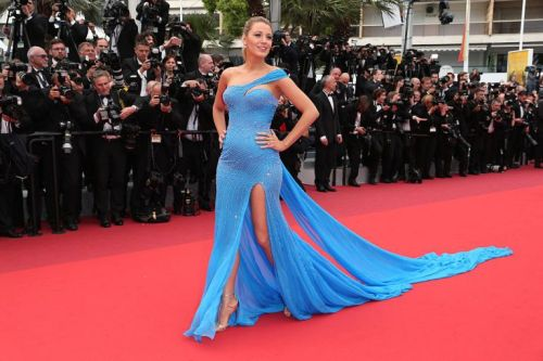 "CANNES, FRANCE - MAY 14:  Blake Lively attends ""The BFG (Le Bon Gros Geant - Le BGG)"" premiere during the 69th annual Cannes Film Festival at the Palais des Festivals on May 14, 2016 in Cannes, France.  (Photo by Gisela Schober/Getty Images)"